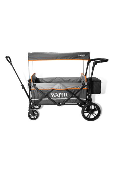 Wapiti Wagon extra, szürke, narancs díszcsíkkal