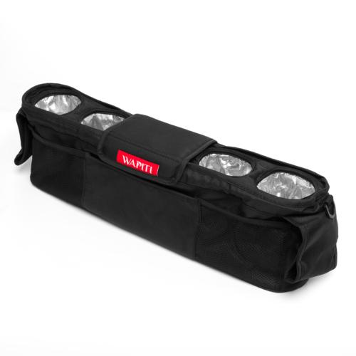Hőtárolós flakontartó, fekete, 4 személyes Wapiti Wagonhoz