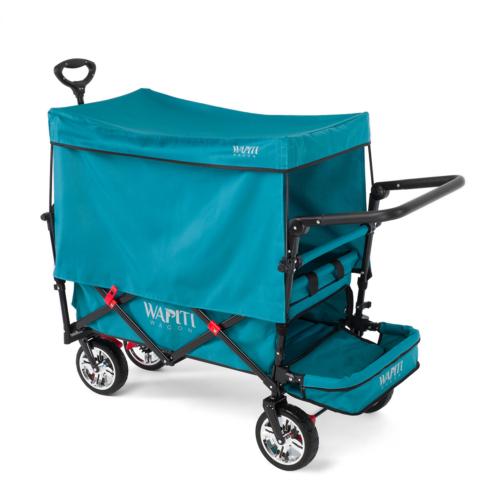 Wapiti Wagon kihajtható lábtérrel, türkiz
