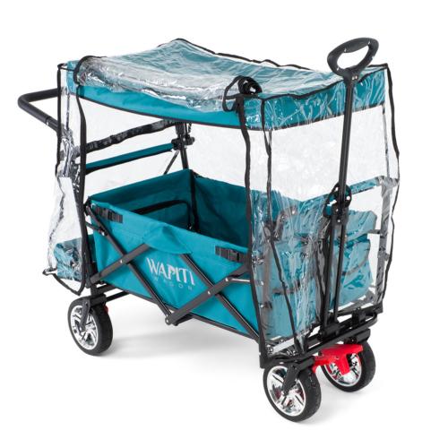 Wapiti Wagon kihajtható lábtérrel és esővédővel