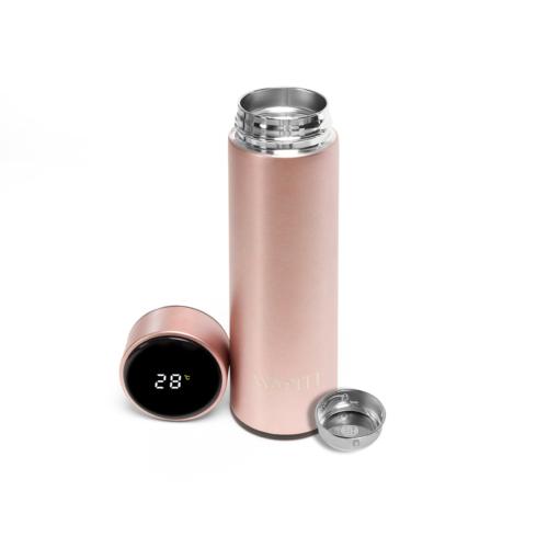 Wapiti hőmérős, digitális kijelzős termosz pezsgő 450ml